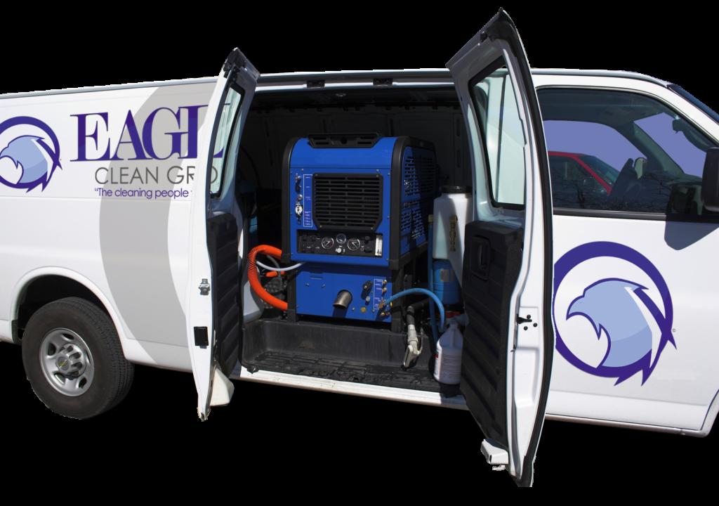 Denver Commercial Cleaning Van