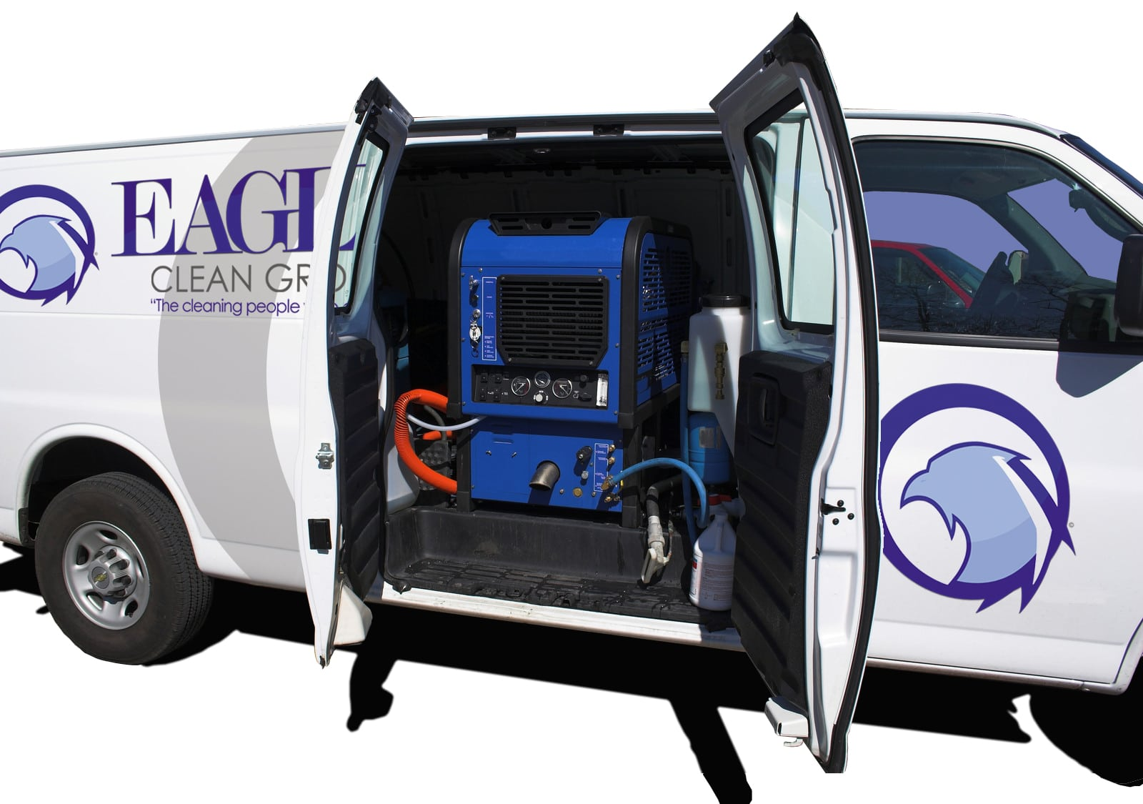 Commercial Dirt Extraction Truck Mounted Carpet Cleaning