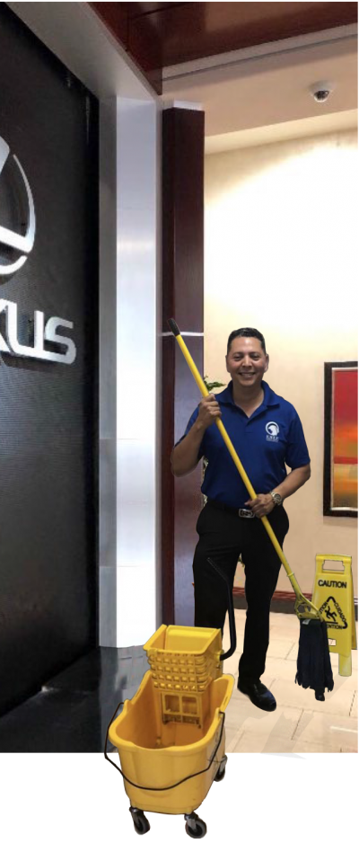 Cleaning a Dealership in Miami FL